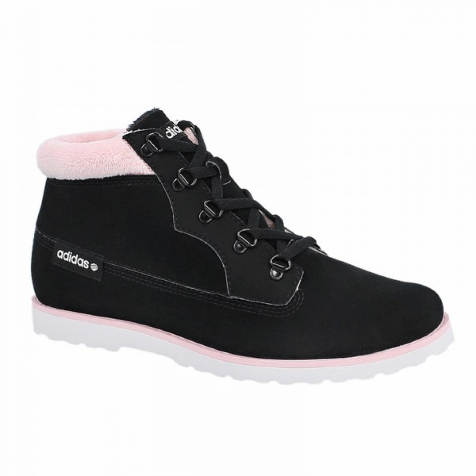 Adidas SENEO TAIGA - дамски зимни обувки - черно/розово