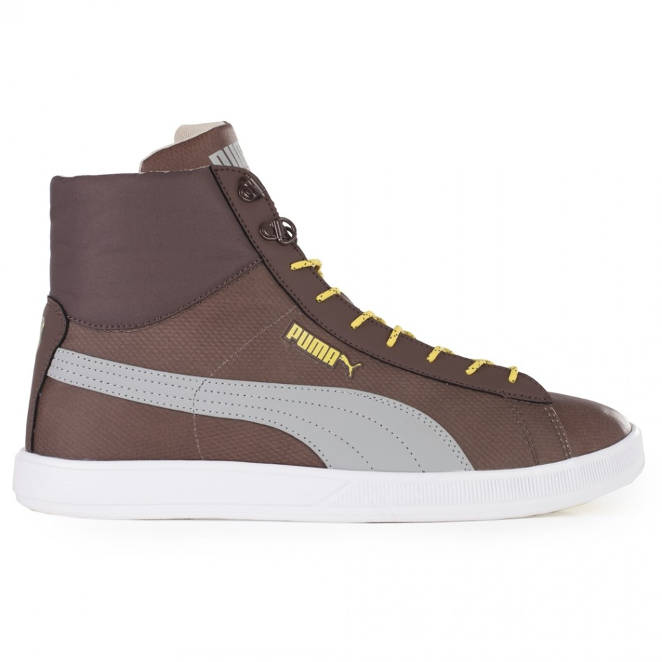 Мъжки кецове  Puma Lite Mid Winter chesnut-lg-gs-black