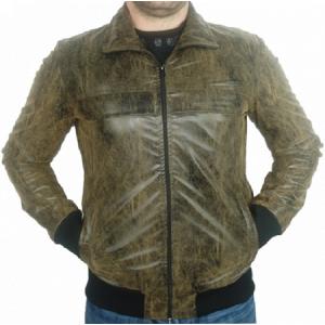"""Мъжко пролетно яке """"Бруно"""" Еко-кожа"""